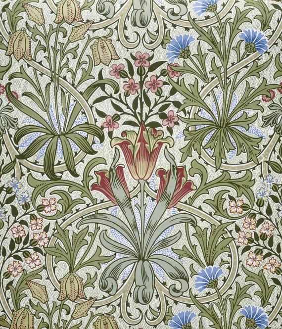 weeds wallpaper. Woodland Weeds wallpaper (C19)